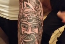 Viking / Skull/s - CoverUp Part 1