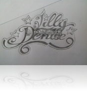 Lilly & Denise Lettering